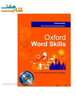 کتاب لغات انگلیسی Oxford Word Skills Intermediate +CD
