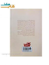 عکس پشت جلد کتاب دروغ گویی روی مبل